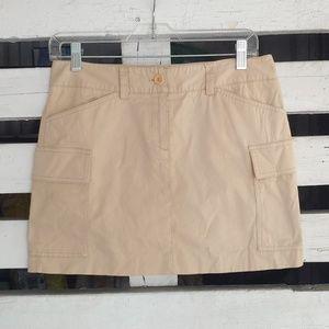 Theory. Cargo side pockets skirt.